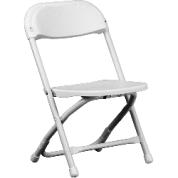 Kids White Plastic Chair