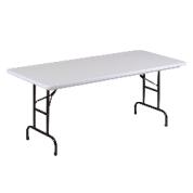Kids White Plastic Table